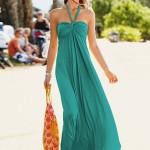 La robe longue est encore d'actualité cet été !
