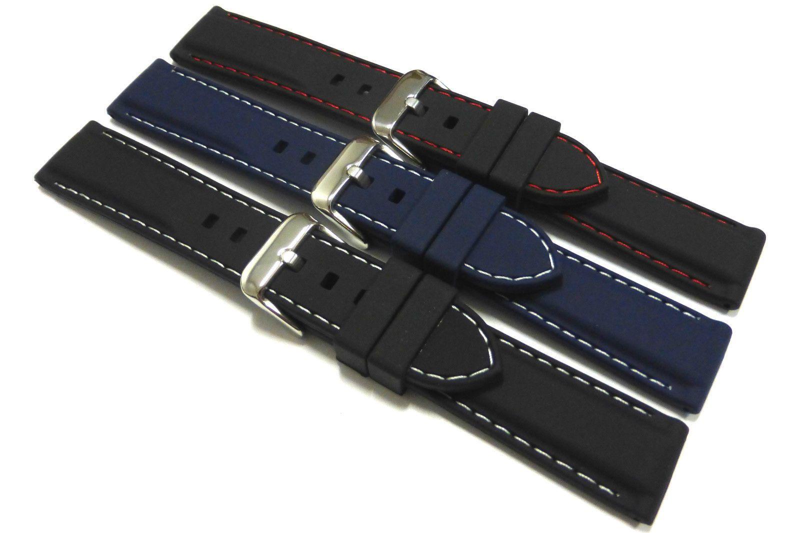 noir-bleu-caoutchouc-en-silicone-bracelet-montre-choix-de-couture
