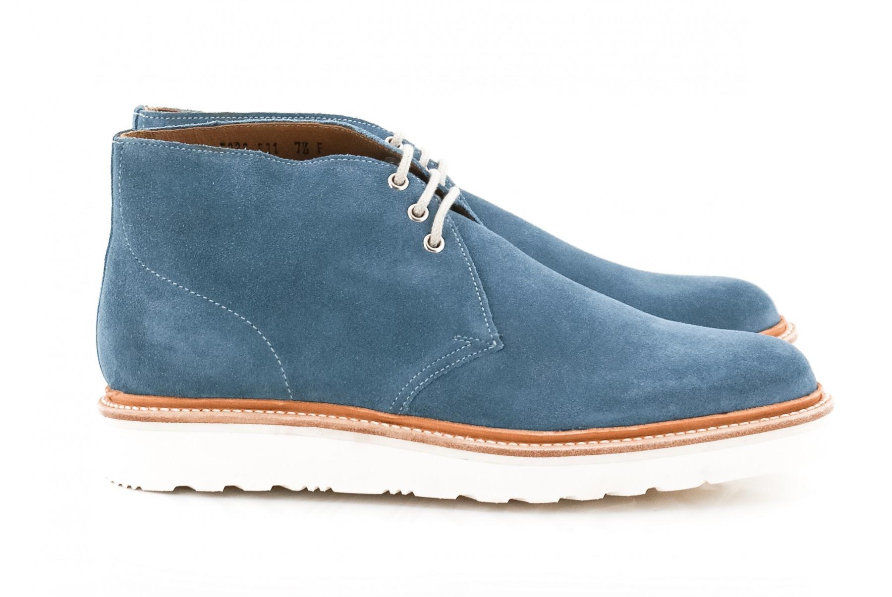 Boots Homme ALLEN COBALT de chez Grenson à retrouver sur www.upper-shoes.com