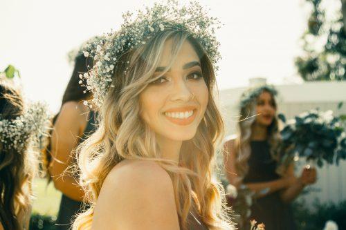 courronne de fleurs pour un marriage